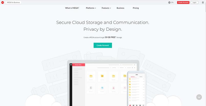 Mega 5 Best Free Storage Hosting platform