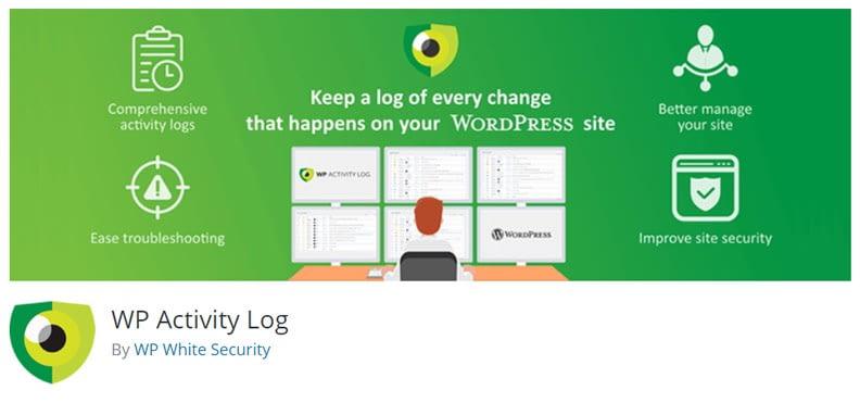 check wordpress audit log security
