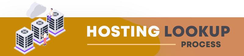 find out hosting of a website