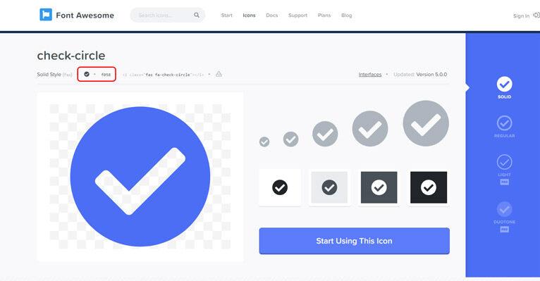 get verified badge icon