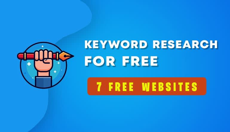 Best keyword research tools for free to rank of google